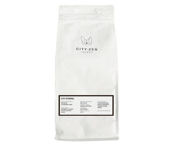 City Strong Coffee / 250 г / 1 кг