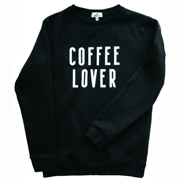 Свитшот Coffee Lover / Black